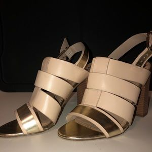 Size 10 circus high heel sandals (new)